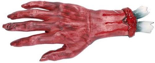 Hand Afgerukt bloed