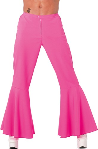 Hippiebroek Heren Pink