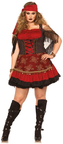 Zigeuner Jurkje Mystic Vixen (Plus Size)
