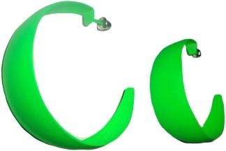 Oorbellen Fluor Groen