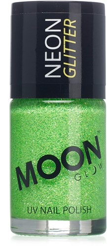 UV Nagellak Glitter Groen (14ml)