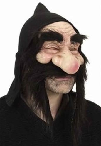 Halfmasker Gnoom Wit