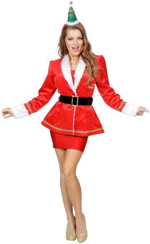 Kerstjas Velvet voor dames