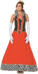 Dameskostuum Koningin Luxe