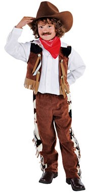 Kinderkostuum Cowboy Luxe 2dlg.