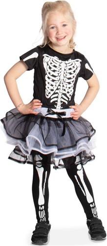Jurkje Skelet met Tutu voor meisjes