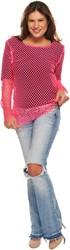 Nethemdje volwassenen Pink