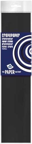 Crepe Papier Zwart