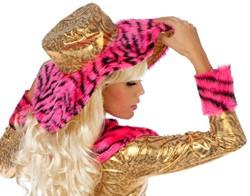 Hoed Pink Pimpette