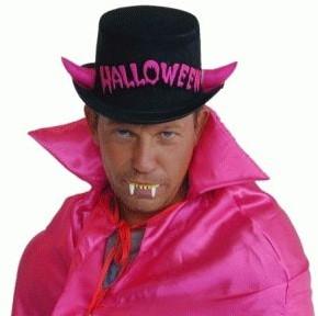 Halloweenhoed Zwart