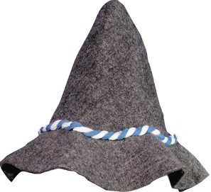 Bayern hoed grijs
