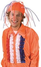 Hoed Orange Brain Explosion