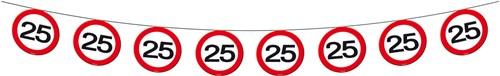 Vlaggenlijn 25 jaar Verkeersbord