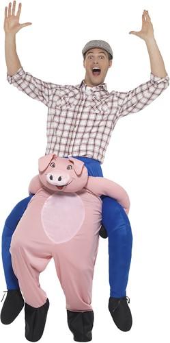 Piggyback Kostuum Varken