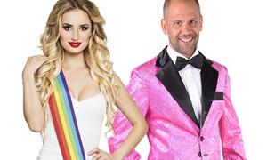 Roze kleding bestellen bij Carnavalsland