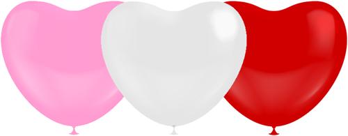 Hartballonnen Multi 38cm (100st.)