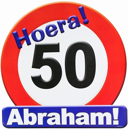 Huldeschild Abraham 50!