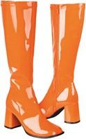 Laarzen Retro Oranje (detail)