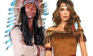 Indiaan kleding voor dames en heren en accessoires kopen bij Carnavalsland