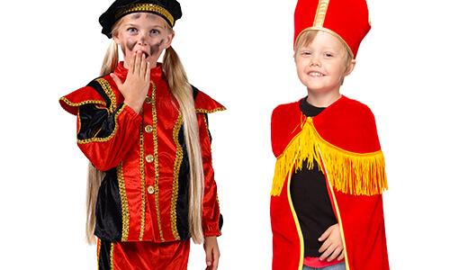Kinderkleding Sint en Piet