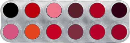 Grimas Lipstick 12 palet LF