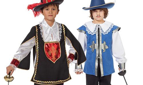Musketier Jongenskleding