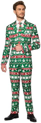 Herenkostuum Suitmeister Christmas Green Nordic