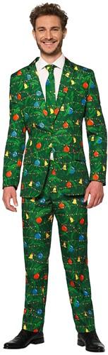 Herenkostuum Suitmeister Christmas Green Tree - Light Up