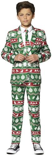 Kinderkostuum Suitmeister Christmas Green Nordic