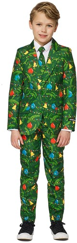 Kinderkostuum Suitmeister Christmas Green Tree - Light Up