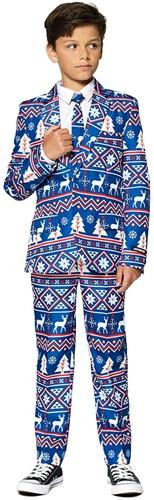 Kinderkostuum Suitmeister Christmas Blue Nordic