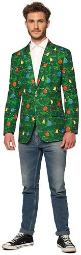 Colbert Suitmeister Christmas Green Tree - Light Up voor heren