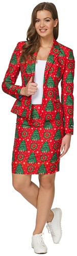 Dameskostuum Suitmeister Christmas Trees