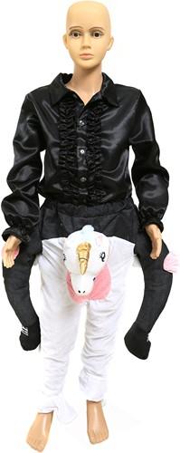 Piggyback Kostuum Eenhoorn voor kinderen