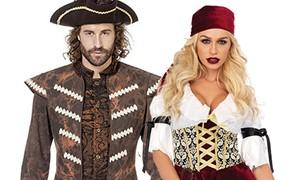 Piraten kleding voor dames en heren en Piraten accessoires kopen bij Carnavalsland