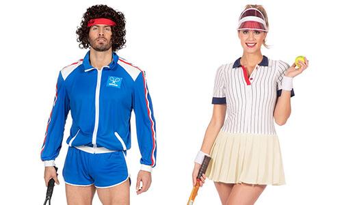 Retro Tennis Outfit
