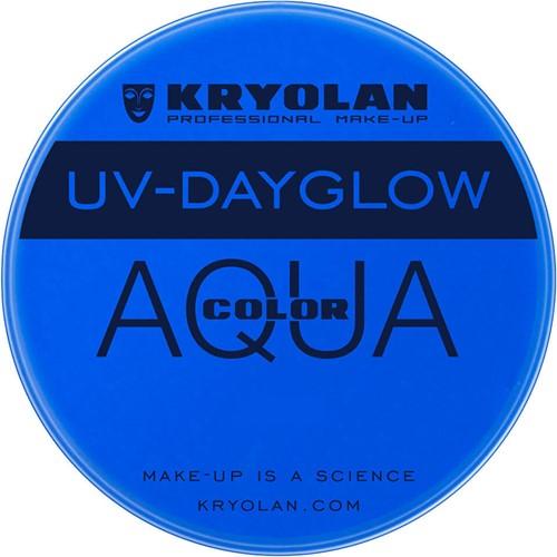 Aquacolor UV-Dayglow 15 ml KRYOLAN Blauw