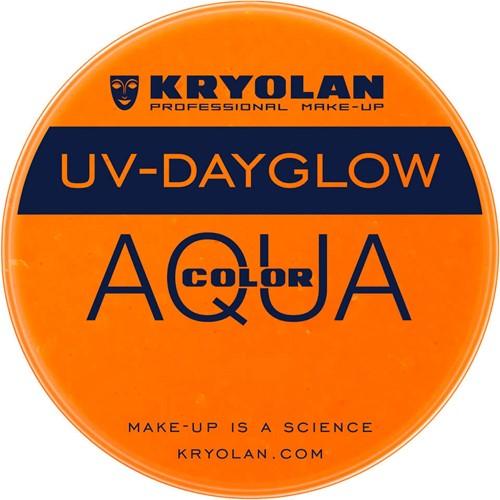 Aquacolor Kryolan UV-Dayglow Oranje 8 ml
