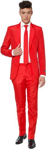 Herenkostuum Suitmeister Solid Red