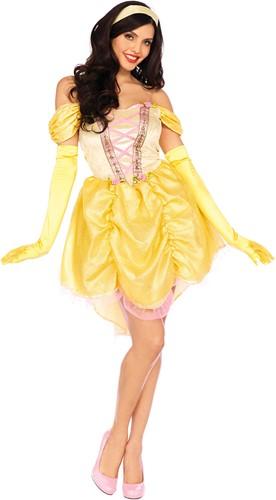 Dameskostuum Prinses Belle - Magical Beauty