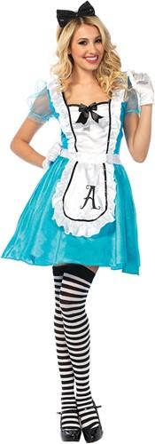 Dameskostuum Alice in Wonderland Classic