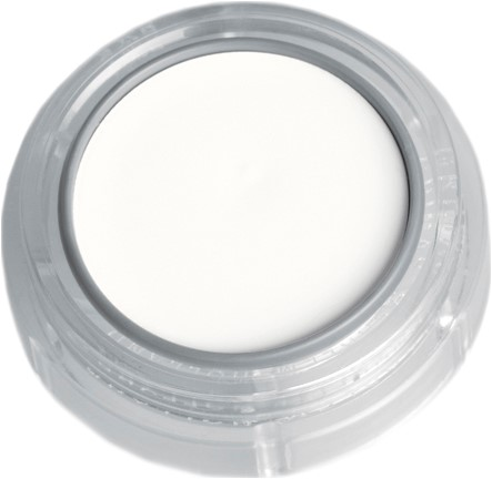 Grimas Water Make-up 001 Wit (2,5ml)