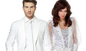 witte party kleding